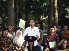 Top! Jokowi Siap Bagi Ratusan Ribu Ha Lahan untuk Rakyat