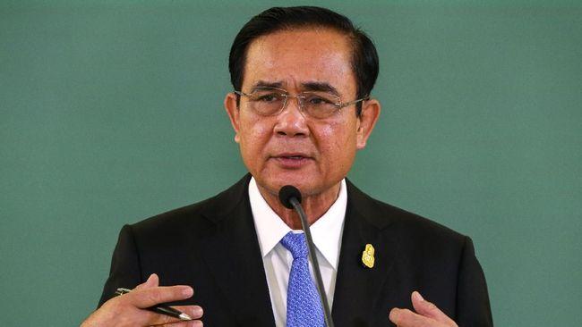 Bidik Periode Kedua, PM Thailand Lawan Kakak Raja di Pemilu