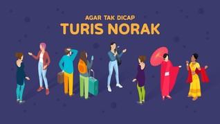 INFOGRAFIS: Agar Tak Dicap Turis Norak