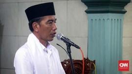 Doa Jokowi untuk Ani Yudhoyono yang Dirawat di Singapura