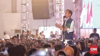Seribu Purnawirawan Mendukung, Jokowi Singgung Anggaran TNI
