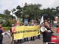 Aksi Demo Warnai Puncak Peringatan Hari Pers Nasional