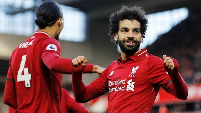 Kalahkan Bournemouth, Liverpool Kembali ke Puncak Klasemen