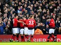 Manchester United Unggul 2-0 Atas Fulham di Babak I