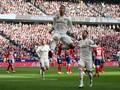 Madrid Unggul 2-1 atas Atletico di Babak Pertama