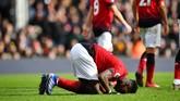 Total Paul Pogba sudah mengemas 11 gol di Liga Primer Inggris musim ini. Sebanyak 36 persen dari total gol Pogba di Liga Primer Inggris bersama Man Unitedtercipta di bawah asuhan Ole Gunnar Solskjaer. (REUTERS/Dylan Martinez)
