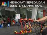 Menikmati Sepeda dan Sekuter Zaman Now