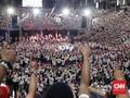 Pose Dua Jari Saat Jokowi Pidato, Tiga Orang Diamankan