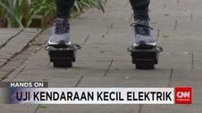 Uji Kendaraan Kecil Elektrik