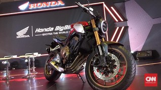 Honda Belum Siap Produksi Moge di Indonesia