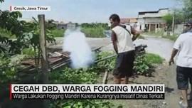 Cegah DBD, Warga Fogging Mandiri