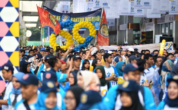 10.000 Orang Ikuti Charity Funwalk BTN