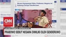 Prabowo Sebut Negara Dimiliki Oleh Genderuwo