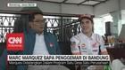 Marc Marquez Sapa Penggemar di Bandung