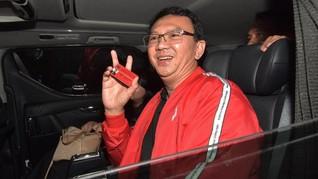Imbas Kasus Ahok, Elektabilitas Jokowi-Ma'ruf di DKI Rendah