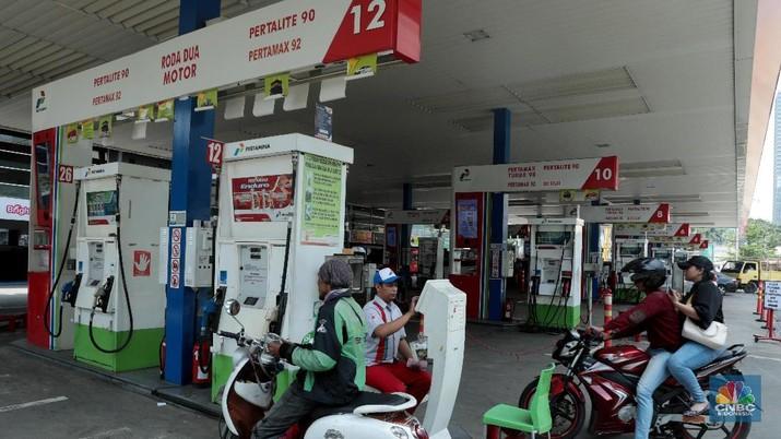 Transaksi BBM di SPBU Pertamina Capai Rp 1,4 Triliun/Hari