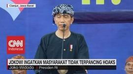 Jokowi Ingatkan Masyarakat Tidak Terpancing Hoaks