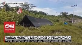 Pasca Gempa, Warga Morotai Mengungsi di Pegunungan