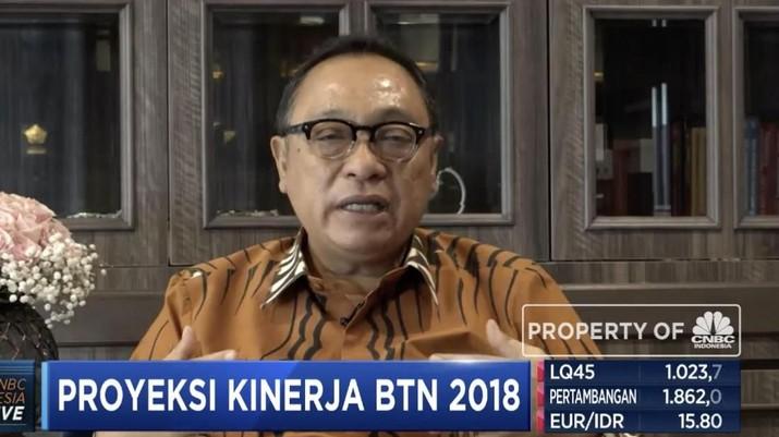 BTN Catat Perolehan Laba Hingga Rp 3,2 Triliun Sepanjang 2018