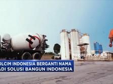 Holcim Indonesia Berubah Nama Jadi Solusi Bangun Indonesia