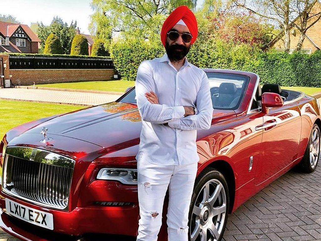 Miliarder itu sekarang memiliki 20 model Rolls-Royce yang berbeda. Foto: Instagram/Reuben Singh