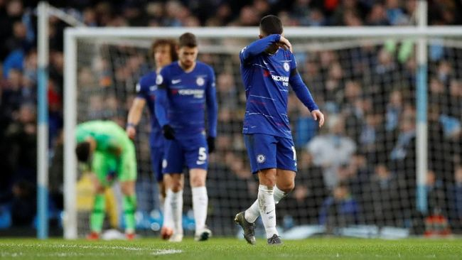 Klasemen Liga Inggris Usai Man City Bantai Chelsea 6-0