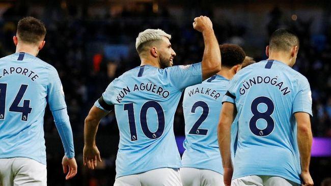 Aguero Hattrick, Manchester City Menang 6-0 atas Chelsea