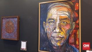 Jokowi Akui Galang Dana di Acara Lelang Lukisan Tim Kampanye