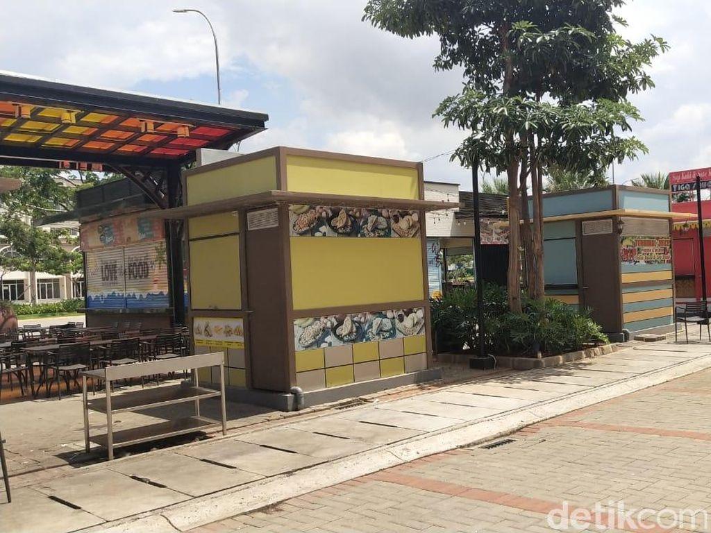 Pedagang mengaku betah dan nyaman berjualan di Pantai Maju karena ramai pengunjung terutama pada saat weekend. (Foto: M Guruh Nuary/detikcom)