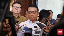 Moeldoko Akui Sosok Ma'ruf Tak Berefek di Basis Prabowo