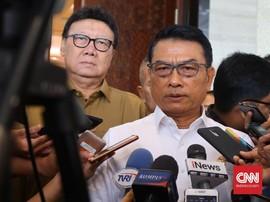 Kawal Jokowi-Ma'ruf, Moeldoko Minta Relawan Jaga Kotak Suara