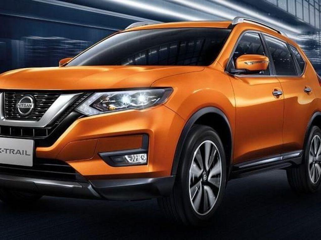 SUV itu mendapat penyegaran minor. Nissan X-Trail facelift ini meluncur di Thailand. Foto: Nissan
