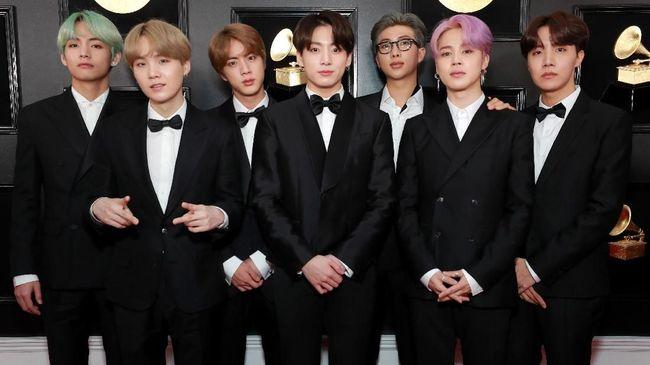 BTS Akhirnya Muncul di Panggung Grammy Awards 2019