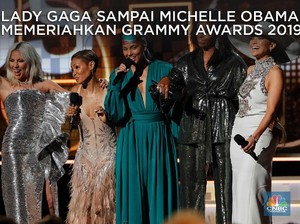 BTS Sampai Michelle Obama Meriahkan Grammy Awards 2019