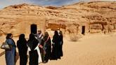 Rencana pengembangan industri pariwisata di Arab Saudi sudah mulai dicanangkan sejak tahun lalu. Mengeluarkan visa untuk turis menjadi salah satu langkah pemerintahnya. (REUTERS/Faisal Al Nasser)