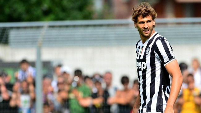Fernando Llorente didapatkan Juventus secara gratis dari Athletic Bilbao pada 2013. Llorente sukses merebut tiga gelar Scudetto bersama Juventus. (GIUSEPPE CACACE / AFP)