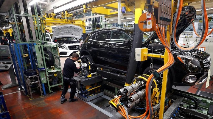 Ekonomi Jerman tetap tidak mencatatkan pertumbuhan di kuartal terakhir tahun lalu.