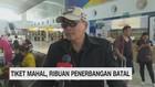 Tiket Mahal, Ribuan Penerbangan Batal