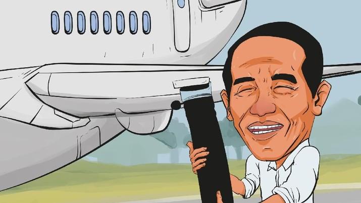 Mahalnya harga avtur sebagai bahan bakar pesawat ditengarai menjadi penyebab meroketnya harga tiket pesawat belakangan ini.