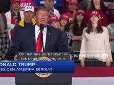 Trump Berjanji Tetap Bangun Tembok Perbatasan AS-Meksiko