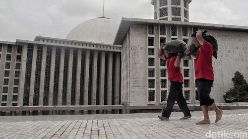 Renovasi Besar Masjid Istiqlal