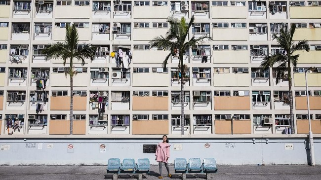Estetika perkotaan Hong Kong yang unik-terutama di kawasan pemukiman umum, terbukti sangat populer dan menjadi obsesi di kalangan pengguna media sosial.