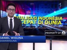 Digitalisasi Indonesia Tercepat di Dunia