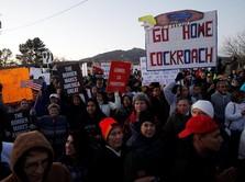Trump Deklarasi Darurat Nasional, Aktivis Demo Besar-besaran