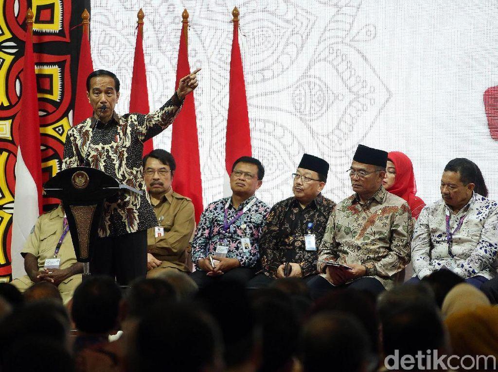 Jokowi mengatakan, jika peningkatan kualitas SDM itu bisa cepat dilakukan, Indonesia akan siap bersaing dengan negara lainnya.