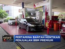 Pertamina Bantah Bbm Premium Langka!