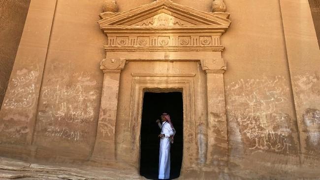 Pemerintah Arab Saudi semakin gencar mempromosikan negaranya ke kalangan turis mancanegara. (REUTERS/Stephen Kalin)