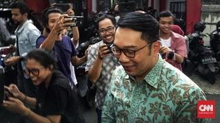 Gubernur Jabar Ridwan Kamil Temui Ma'ruf Amin