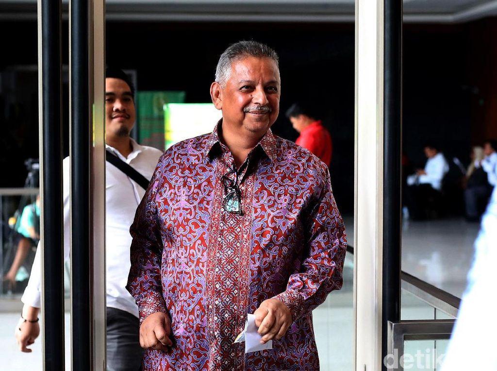 Direktur Utama PT PLN Sofyan Basir hadir di sidang lanjutan eks Menteri Sosial Idrus Marham di Pengadilan Tipikor, Jakarta, Selasa (12/2/2019).