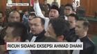 Ricuh Sidang Eksepsi Ahmad Dhani